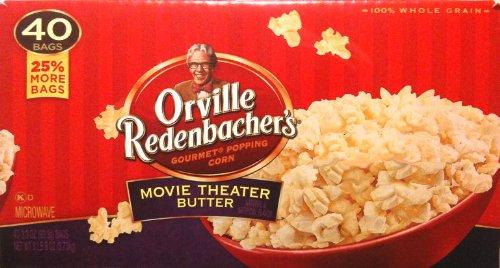 Orville Redenbacher's Movie Theater Butter Popcorn - 40 Bags