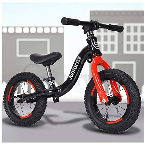 QMMD Bicicleta 14 Pulgadas para Niños de 4-9 años Bicicleta Sin Pedales...