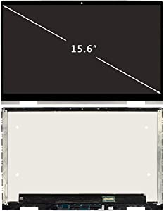 FIRSTLCD LCD Touch Screen Replacement L93180-001 Fit for HP 15M-ED 15M-ED0013DX 15M-ED0023DX 15M-ED1013DX 15M-ED1023DX LED Display Digitizer Assembly + Silver Bezel 15.6