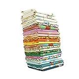 Malibu Fat Quarter Bundle (24 Pieces) by Heather Ross for Windham Fabrics 18 x 21 inches (45.72 cm x 53.34 cm) Fabric cuts DIY Quilt Fabric