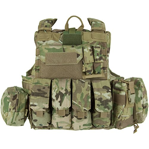 Flyye Force Recon Vest with Pouch Set ver. Mar Multicam Size...