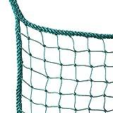 DLOSN Golf Practice Barrier Net, Golf Ball Hitting Netting, Golf High Impact Net, Golf Containment Net (10X10 FT)