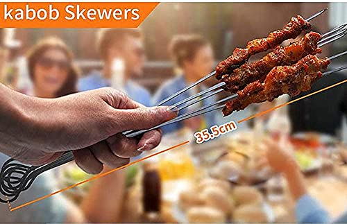 51CANqhCfLS. SL500  - ZIYEWAN Barbecue-Kit Grillwerkzeuge aus Edelstahl, Grillzubehör Spatel, Bastbürste, Grillwerkzeug Geschenkset für Campingpartys im Freien, Grillutensilien mit Aufbewahrungstasche