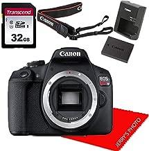 Canon EOS Rebel T7 DSLR Camera Body (No Lens)+ 32GB Memory Bundle (Renewed)