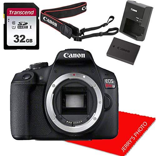 Canon EOS Rebel T7 DSLR Camera Body (No Lens)+...