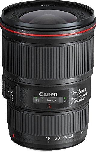 Canon Obiettivo EF 16-35 mm f/4L IS USM SLR, paraluce EW‐82...