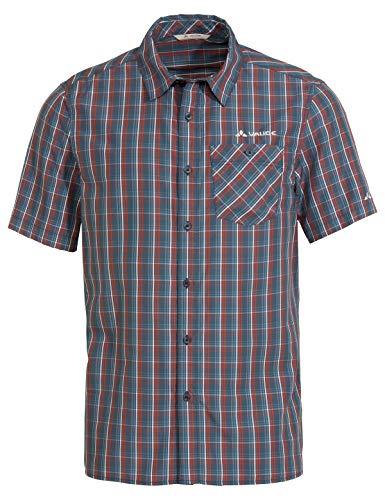 VAUDE Herren Men's Albsteig Shirt Ii Hemd Bluse, Steelblue, 3XL EU