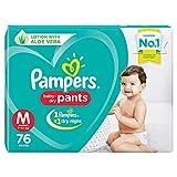 Pampers New Diaper Pants, Medium, 76 Count