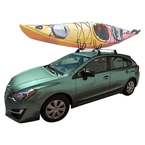 WXGY 1 Paar Universal Kayak Roof Rack Dachträgerträger für Kayak Canoe Paddle Boat Surf Ski