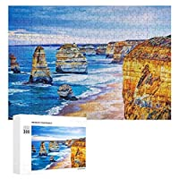 海のビーチの風景 300ピースのパズル木製パズル大人の贈り物子供の誕生日プレゼント