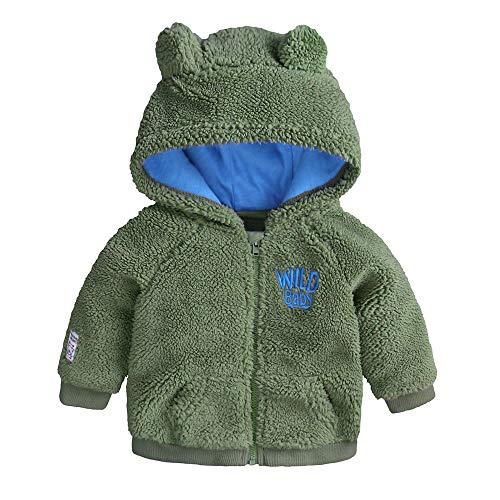 squarex squarex Baby Mädchen (0-24 Monate) Schlafanzugoverteil Gr. 0-3 Monate, Green (for Boys)