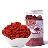 Goji Berries,Natural Organic Sun-Dried Wholesale Wolfberries,Chinese Flora Herbal Tea Supplement for Salad, Dessert,Juice,Snacks,Gouqi-150G