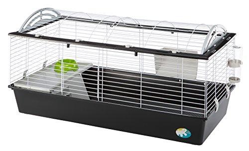 Ferplast Casita 120 Cage pour Lapin Gris 119 x 58 x 61 cm