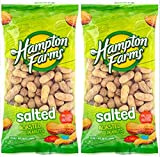 Salted Roasted Peanuts, 10-oz. Bags - 3 Packs; Hearty and healthy peanuts a good source of Protein