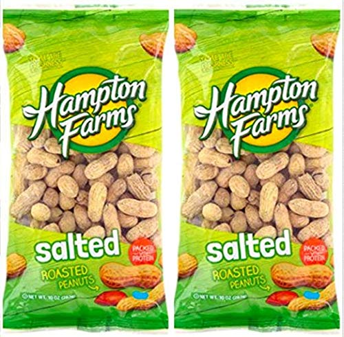Salted Roasted Peanuts 10-oz. Bags - Packs; Hearty Outlet SALE 3 security health and
