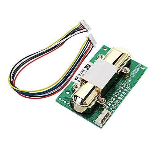 NICOLIE NDIR CO2 Sensor MH-Z14A PWM NDIR Módulo de sensor de dióxido de carbono infrarrojo controlador de puerto serie 0-5000PPM