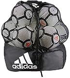 adidas Unisex Stadium Ball Bag, Black/White, ONE SIZE