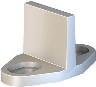 JUGREAT Barn Door Floor Guides Aluminum T-Guide for Sliding Barn Door Hardware Silver