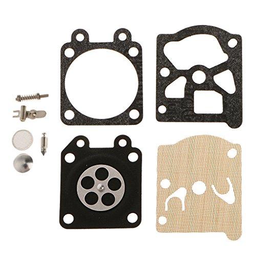 Kit De Reparación De Diafragma De Junta Para Zenoah G5200 Motosierra 38/45/52cc Herramienta De Carburador Parte De La Herramienta Eléctrica
