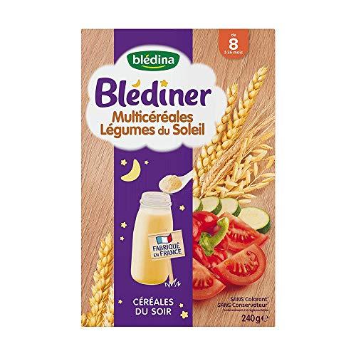 Cereales bebe 8 mois, legumes du soleil Bledina
