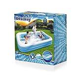 Schwimmbecken aufblasbar – Bestway – Blue Rectangular - 7