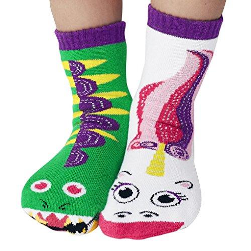 Pals Dragon and Unicorn Mismatched Socks, 1 EA
