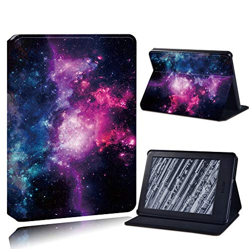 Case Cover For Kindle,Pu Leather Anti-Fall Tablet Case For Kindle Paperwhite 1/2/3/Paperwhite(5Th/6Th/7Th/10Th)/For Kindle (10Th /8Th)6 Inch + Stlyus /Universe/Anti Dust Fashion Accessories,For Kindl