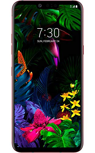 LG G8 ThinQ LMG820TM (128GB, 6GB RAM) 6.1' 4G LTE AT&T, T-Mobile Unlocked - GSM ONLY (Carmine Red)