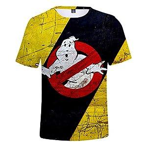 CYANDJ-Ghostbusters-T-Shirt à Manches Courtes Imprimé en 3D pour Enfants, Polo De Loisirs pour Enfants D'éTé, T-Shirt De Plage à SéChage Rapide Imprimé Unisexe-150