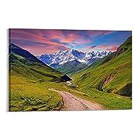 自然風景キャンバスアートポスター装飾絵画壁アート絵プリントポスターリビングルーム壁画家の装飾絵画20×30インチ(50×75cm)