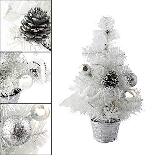 AMhomely - Adornos de Navidad para decoración de Mesa, decoración de árbol de Navidad en Miniatura, 20 cm, decoración de Navidad