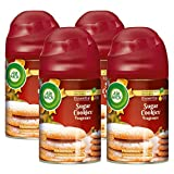 Air Wick Freshmatic Automatic Spray with Refill Air Freshener, Sugar Cookies, 4 Count
