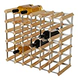 RTA 36 Botellas de Vino Tradicional – Kit de Madera de Pino Natural (FSC)