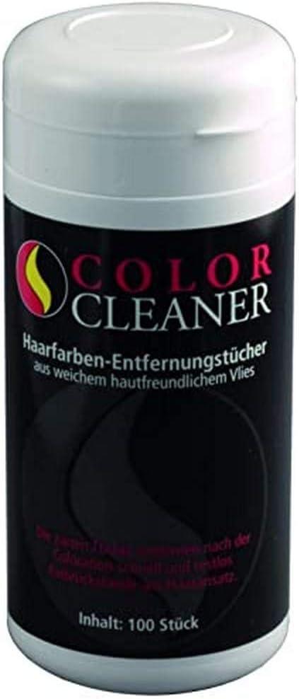 Coolike Color Cleaner - Toallita quitamanchas para tinte de pelo (algodón, 50 unidades, 13,5 x 9,5 cm)