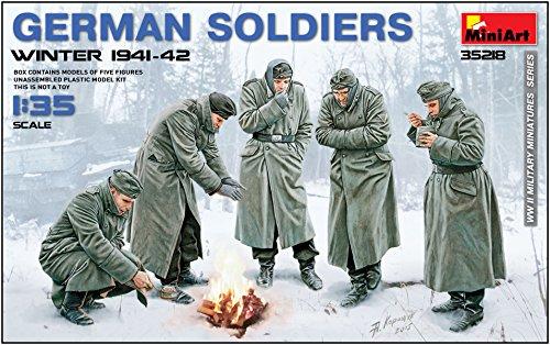 ミニアート 1/35 ドイツ兵 防寒服着用 1941-42冬季 5体入 プラモデル MA35218