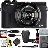 Canon PowerShot G7 X Mark III Digital Camera with Wi-Fi & NFC, LCD Screen and 4K Video - (Black) ZeeTech Advanced Accessory Bundle (Advanced Bundle)