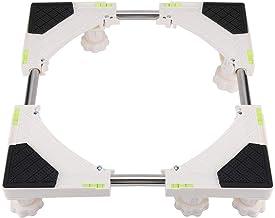 Garosa Justerbar tvättmaskin basstativ multifunktionell tung teleskopisk möbler rullvagn piedestal bas tvätt bricka konsol...