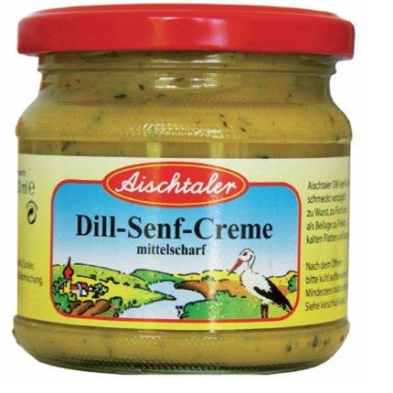 Lutz Aischtaler Dill-Senf-Creme 12 x 200 ml Tray