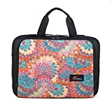 Protecta Professional 15.6-inch Laptop Bag Briefcase (Black and Indian Geometric Print)