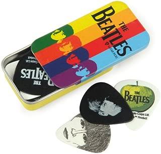Planet Waves Beatles Signature Guitar Pick Tins, Stripes, 15 Picks