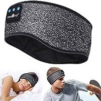 Sleep Hoofdtelefoon Bluetooth - V5.0 Hoofdband Hoofdtelefoon Soundband Hoofdtelefoon met Ultra-dunne HD Afneembare...