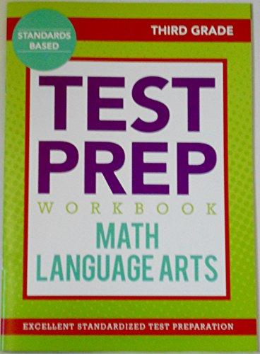 Test Prep Workbook: Third Grade Math & Language Arts
