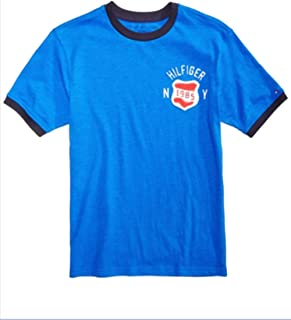 Tommy Hilfiger Big Boys Patch Cotton T-Shirt