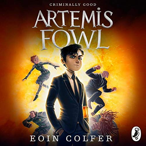 Artemis Fowl                   By:                                                                                                                                 Eoin Colfer                               Narrated by:                                                                                                                                 Adrian Dunbar                      Length: 3 hrs and 23 mins     67 ratings     Overall 4.6