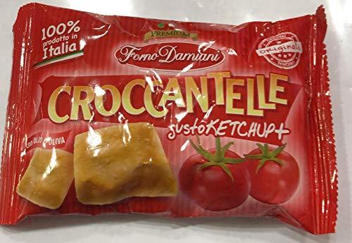 Croccantelle Forno Damiani GUSTI VARI - 1 CONFEZIONE DA 25 Buste (KETCHUP)