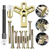 AFASOES Kit Extractor de Volante de Moto Universal, Extractor de...