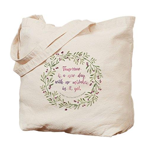CafePress Tragetasche mit Zitat von Anne of Green Gables aus natürlichem Segeltuch, Einkaufstasche