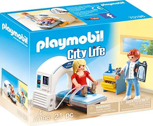 Playmobil 70196 City Life Beim Facharzt: Radiologie, ab 4 Jahren, bunt, one Size