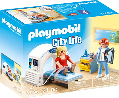 PLAYMOBIL PLAYMOBIL-70196 City Life Radiólogo