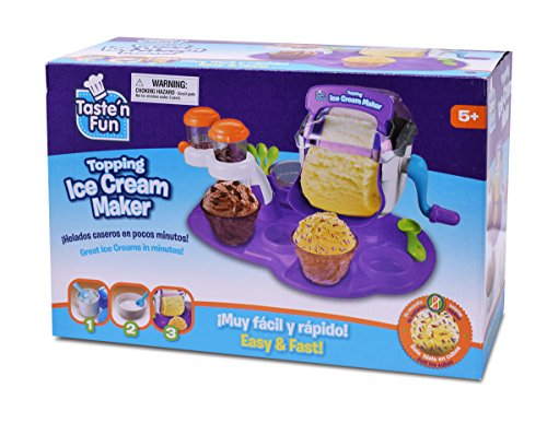 Read About Taste'n Fun Topping Ice Cream Maker